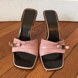 Mules Gucci roses T.35,5