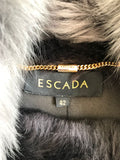 Manteau fourrure Escada T.38