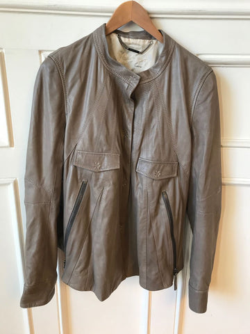 Veste Barbara Bui beige T.40 IT