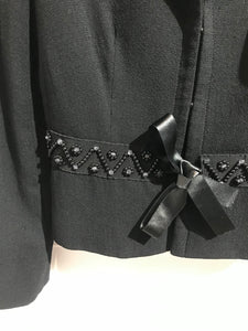 Pantalon Saint Laurent argent T.27