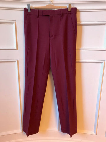 Pantalon Gucci bordeaux T.38