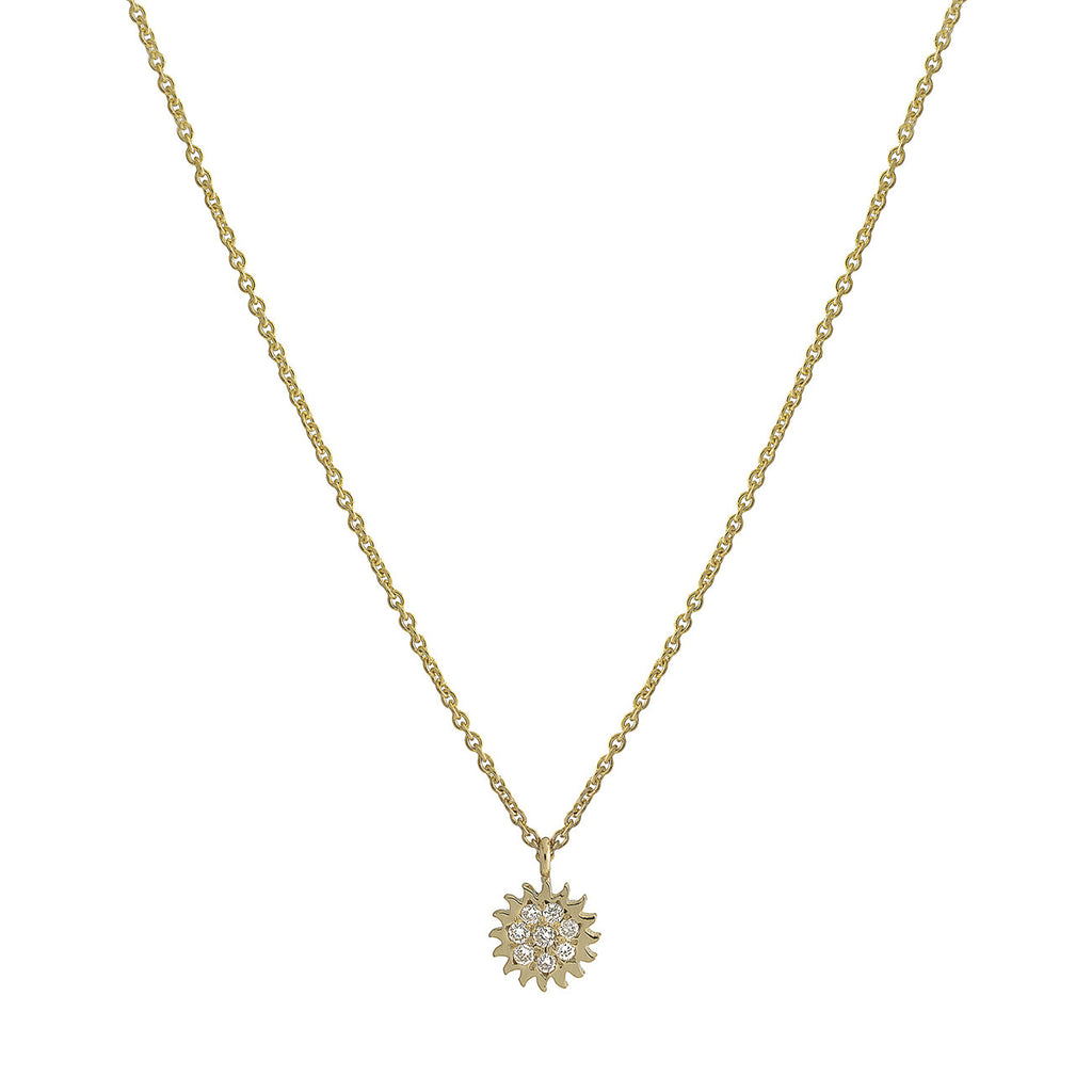 Small Sun Necklace