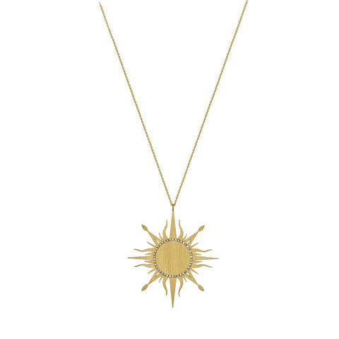 Large Sun Necklace