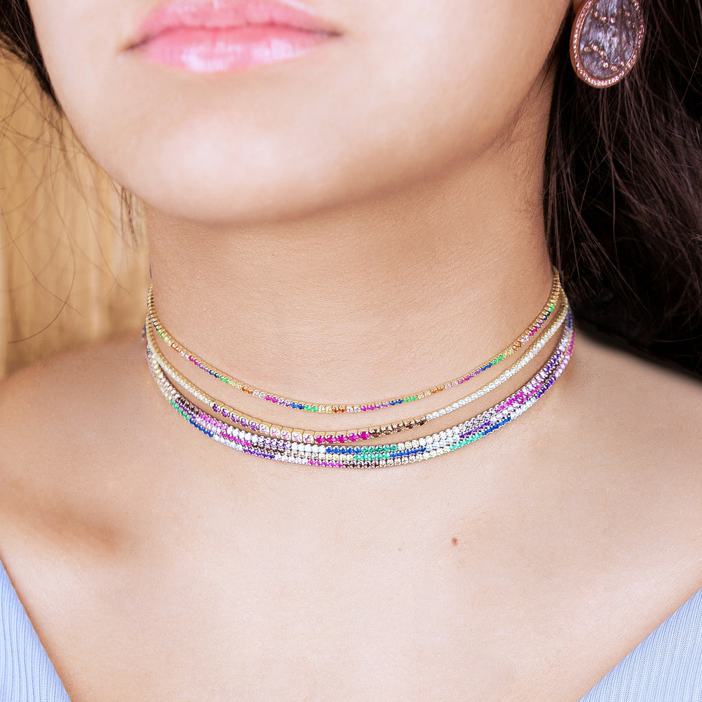 Rainbow Chokers