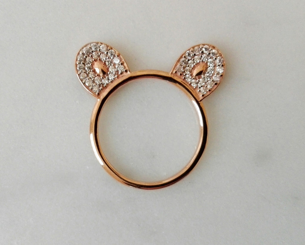 Monkey Ears Ring