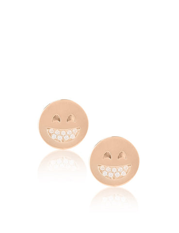Big Smile Smiley Earrings