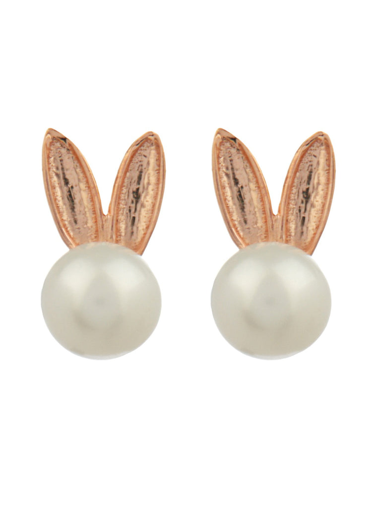 Bunny Pearls Earrings