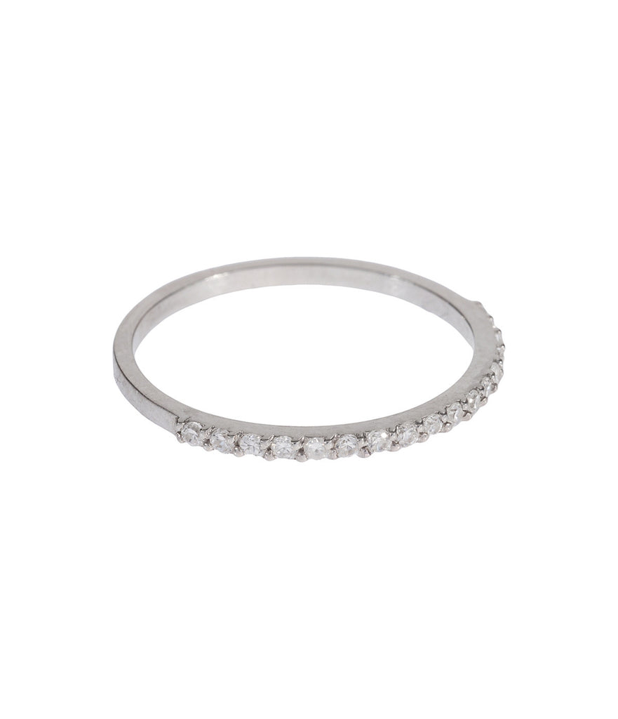 Midi Ring - White Topaz