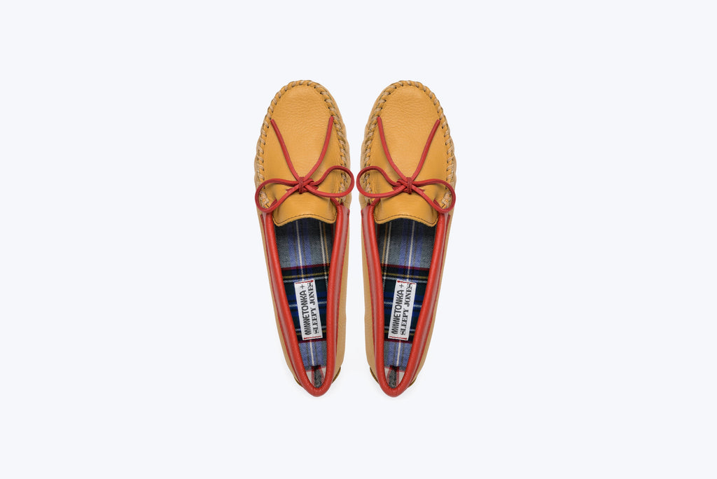 Minnetonka x Sleepy Jones Men's Deerskin Slipper