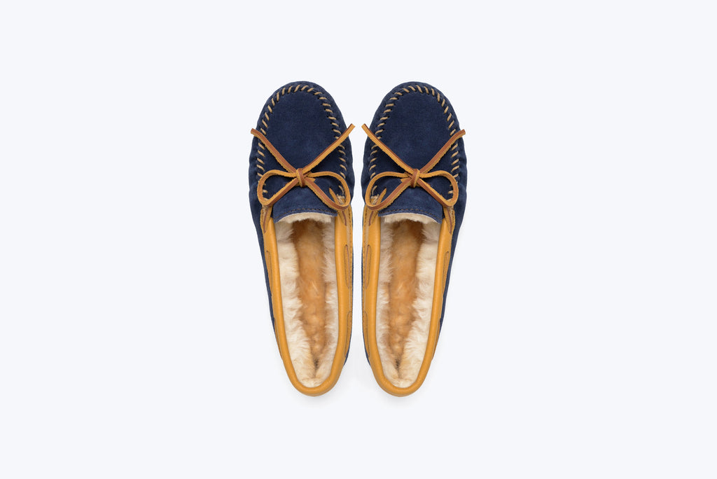 Minnetonka x Sleepy Jones Women's Sheepskin Slipper
