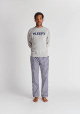 SLEEPY JONES | The Sleepy Sweatshirt Heather Grey Logo