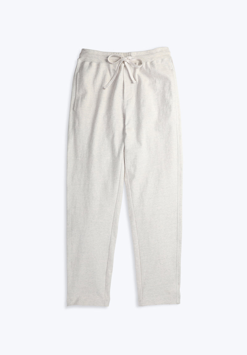 SLEEPY JONES | Cy Jogger Oatmeal Heather Soft Rugby