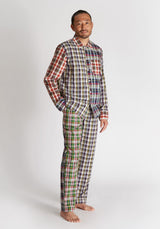 SLEEPY JONES | Henry Pajama Set Multi Madras Fun Set
