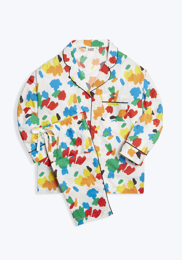 SLEEPY JONES | Marina Pajama Set Palette Print