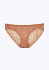 SLEEPY JONES | Goldin Bikini in Nude Swiss Dot Mesh