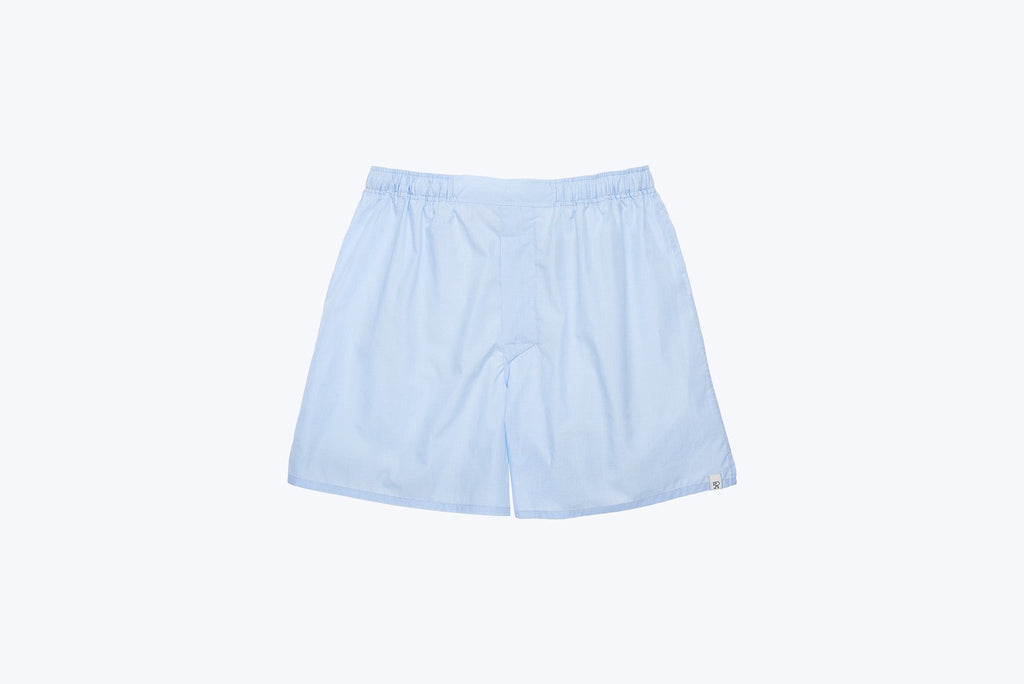 Victor Boxer Short End on End Blue