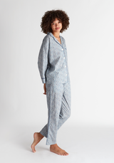 SLEEPY JONES | Marina Pajama Set in Liberty of London Katie & Millie Blue