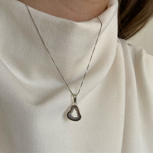 Macchiato Silver Necklace
