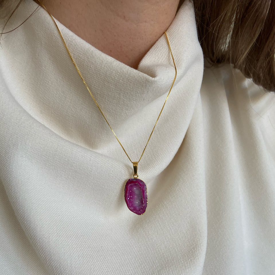 Merlot Necklace