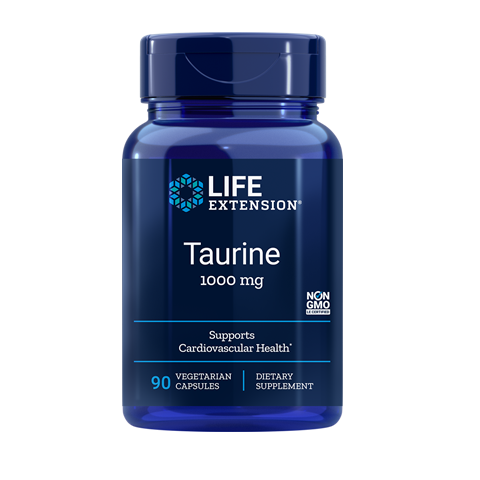 Life Extension Taurine - 60 Softgels