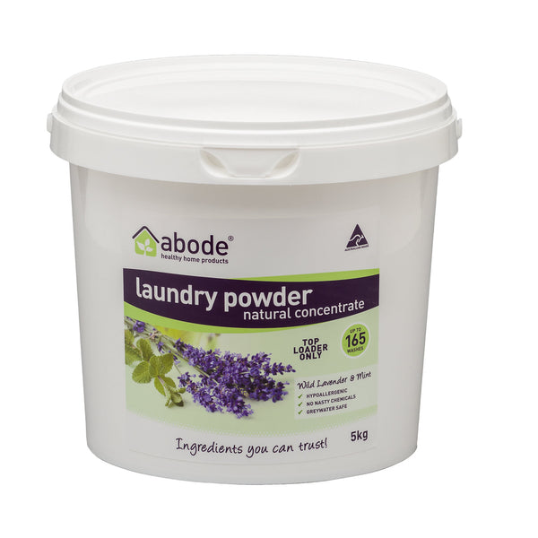 Abode Top Loader Laundry Powder Lavender Mint 5kg