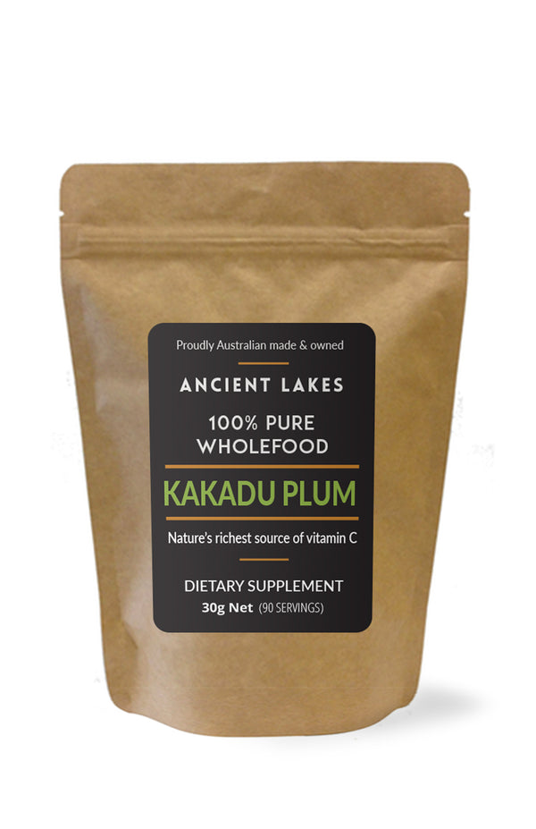 Ancient Lakes Pure <br> Kakadu Plum Powder 30gr