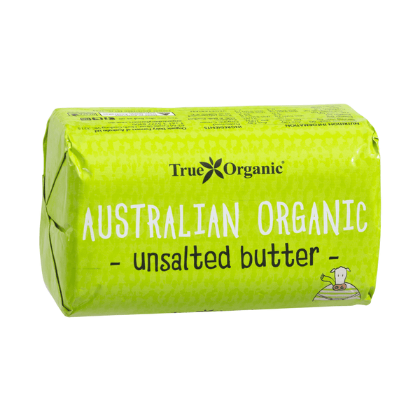 True Organic Unsalted Butter 250gr