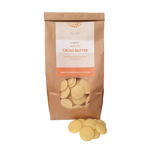 Organic Cacao Butter Wafers
