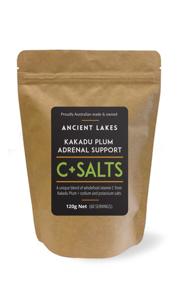 Ancient Lakes C+Salts Kakadu Plum Adrenal Support Powder - 120g