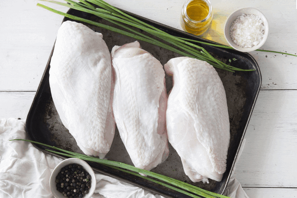 Certified Organic Chicken <br> Breast Fillet Skin Off