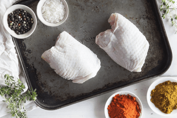 Certified Organic Chicken Thigh Fillet