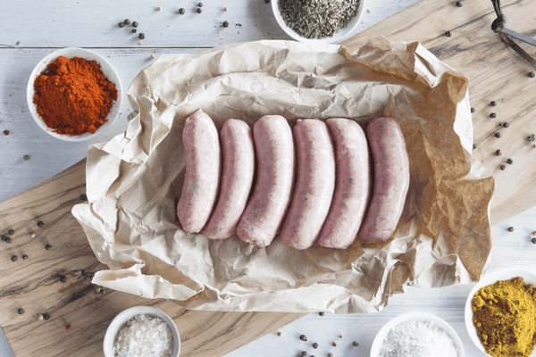 Certified Organic Traditional Beef Gourmet Sausages