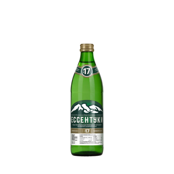 Essentuki 17 Carbonated Mineral Water 500ml