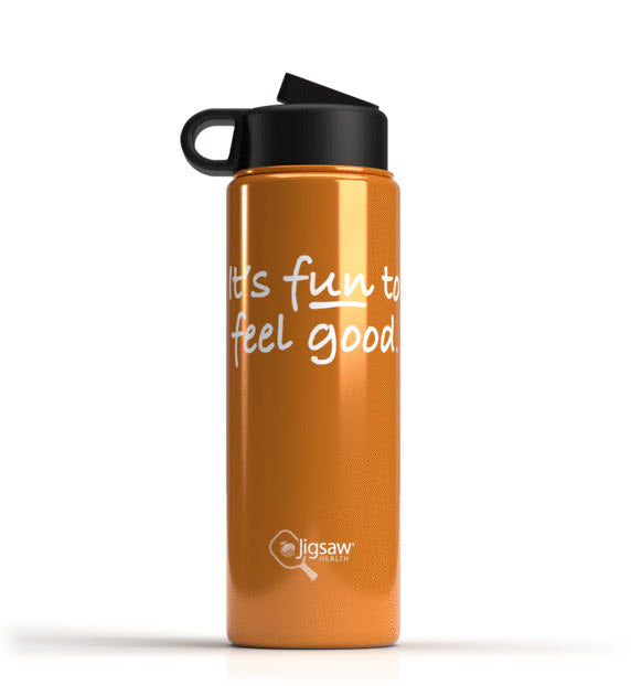 Jigsaw Health Stainless Steel Water Bottle