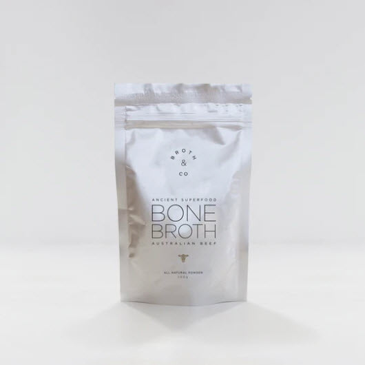 """Naked"" Beef Bone Broth Powder 100gr (20 serves)"