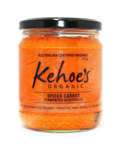 Kehoe's Organic <br> Spiced Carrots 410gr