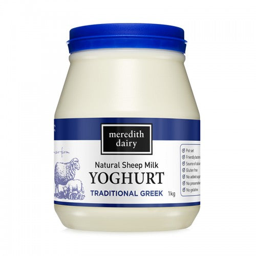 Meredith Dairy Sheep Milk Yoghurt (Greek Blue) 1kg