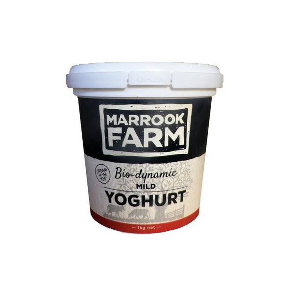 Marrook Farm Biodynamic Mild Yoghurt 1kg