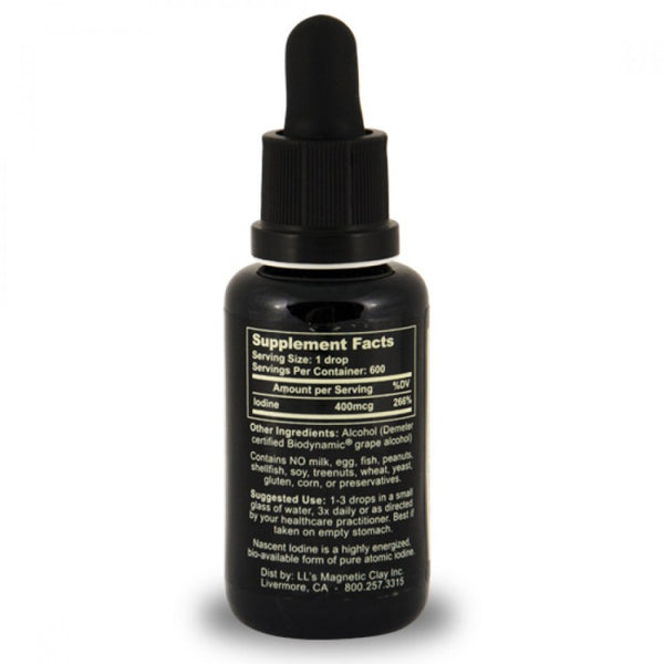 Nascent Iodine 1oz (2% Strength) 30ml