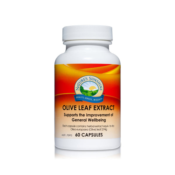 Nature's Sunshine Olive Leaf Extract - 60 capsules