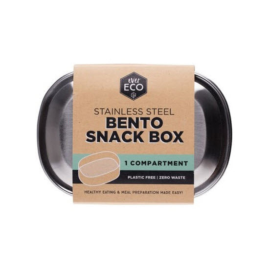 EVER ECO Stainless Steel Snack Box - 1 Compartment