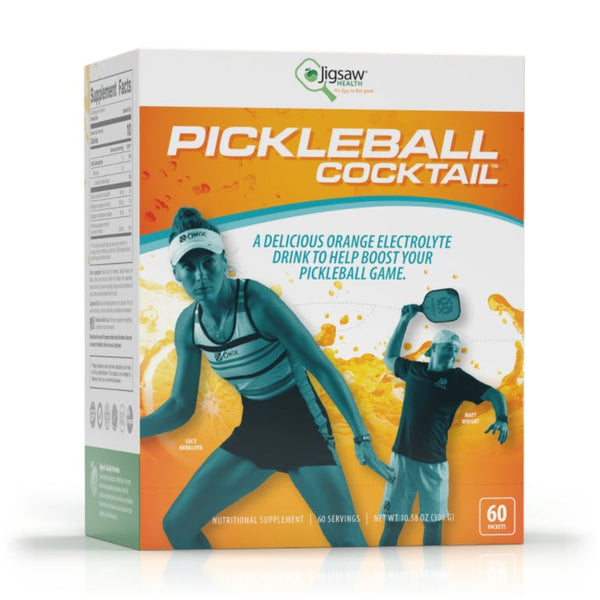 Jigsaw Health Pickleball Cocktail Packets - 60 Servings