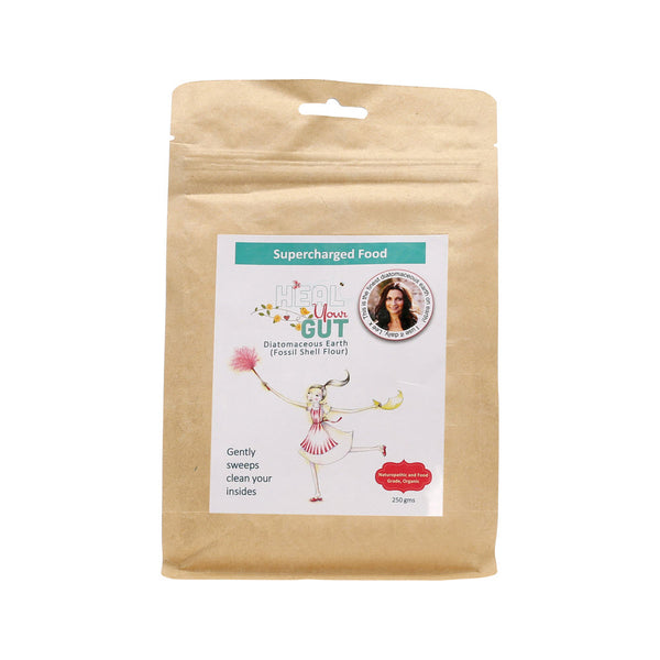 Supercharged Food Love Your Gut Powder Diatomaceous Earth - 250gr
