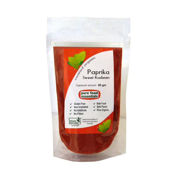 Organic Sweet Paprika Powder 60gr