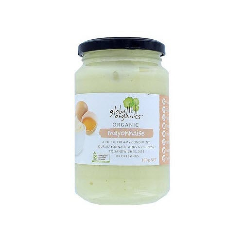 Global Organics Traditional Mayonnaise 300gr