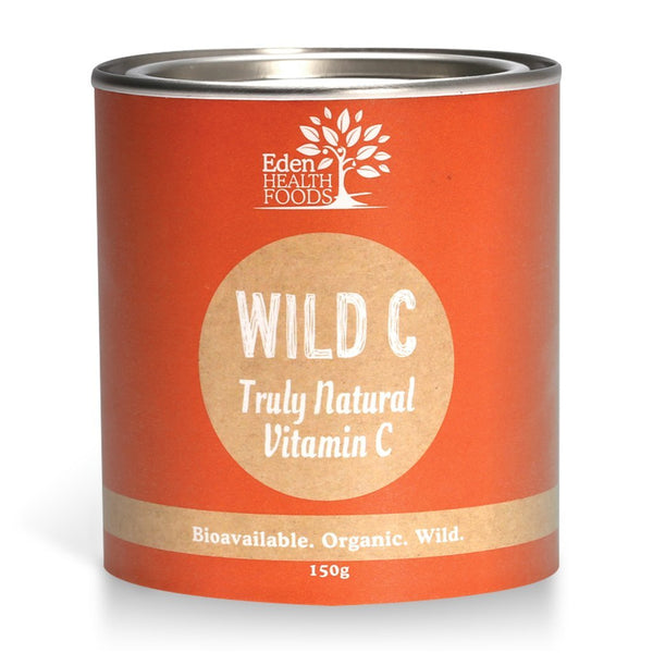 Eden Healthfoods Wild C - Natural Wholefood Vitamin C Powder 150gr