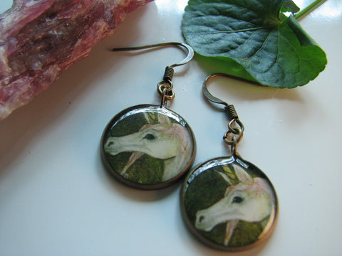 Unicorn (Earrings)