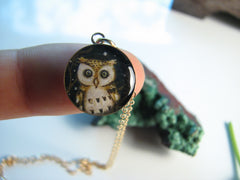 14k Gold Fill Night Owl (Small Size)