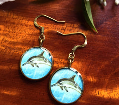 Dolphin (Earrings)