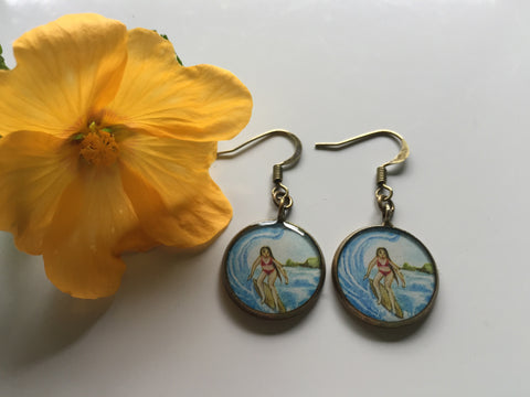 Surfer Girl (Earrings)